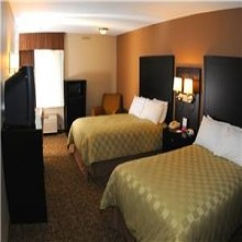 Double Queen Bedroom at Ramada Fresno