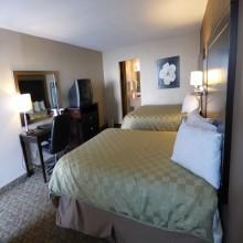Ramada by Wyndham Fresno Double Queen Bedroom
