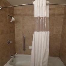 Ramada by Wyndham Fresno Double Bedroom Shower